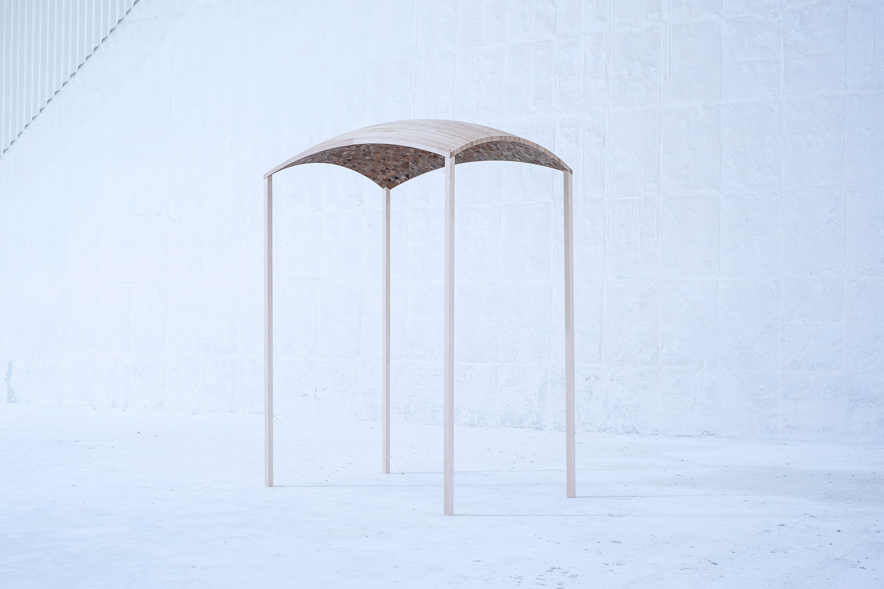 Alastair Mackie | Canopy | 2014 | leaf | sculpture | Home | Crisis Commission